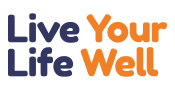 Live your life well logo