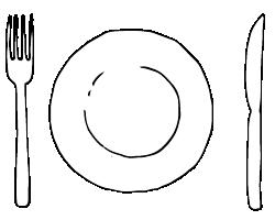 Smaller plate